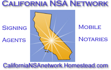 California Notary Signing Agents Network, Notary Signing Agents, california mobile signing agents